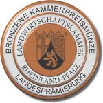 Kammerpreismünze in Bronze
